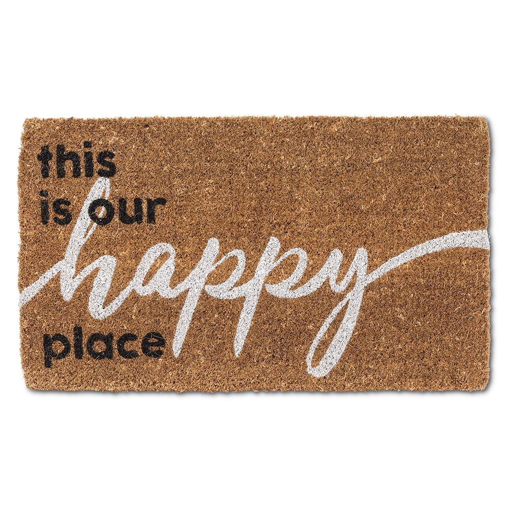 Graphic Happy Place Doormat